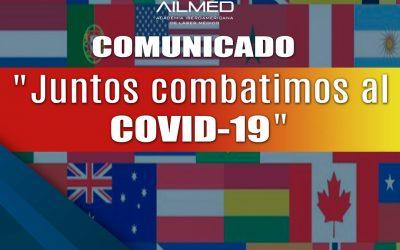 AILMED se solidariza ante situación generada por el COVID-19
